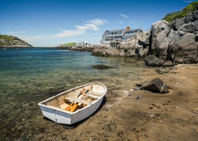 Monhegan Rowboat