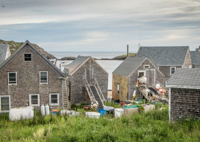 Monhegan Fishing Shacks