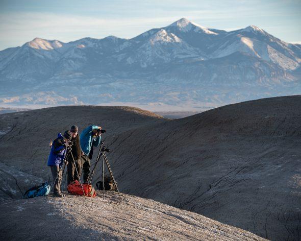 photography workshop group in Utah